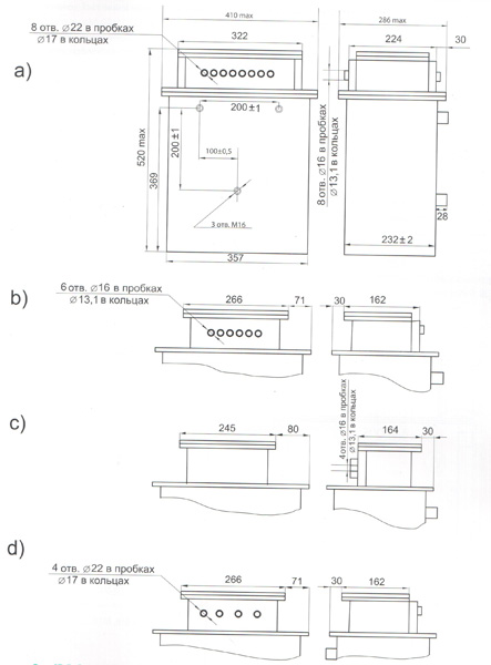 Блоки резисторов взрывобезопасные БРВ-1М