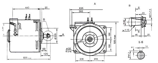 Электродвигатели постоянного тока рудничные тяговые типа ДРТ ( для контактоных электровозов)