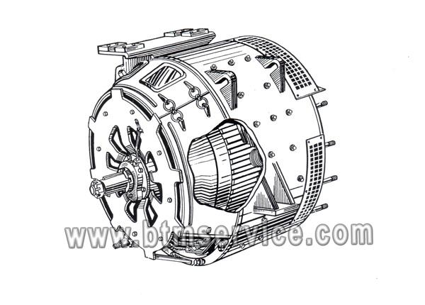 Тяговый генератор ГП-311БМ У2