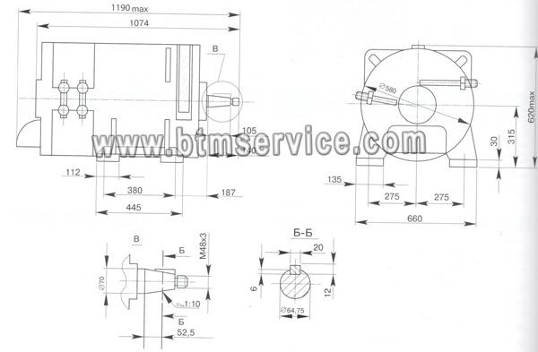 Стартер-генератор типа 5ПСГМ