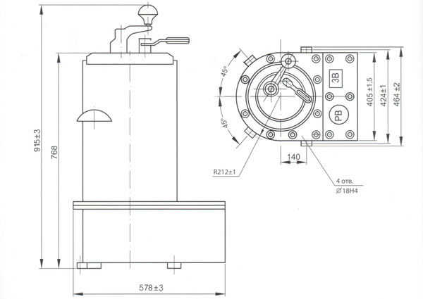 Контроллер типа КРВ-2М