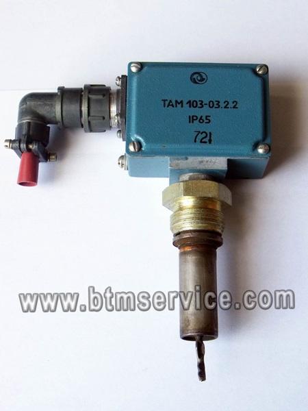 Датчик - реле температуры типа ТАМ 103